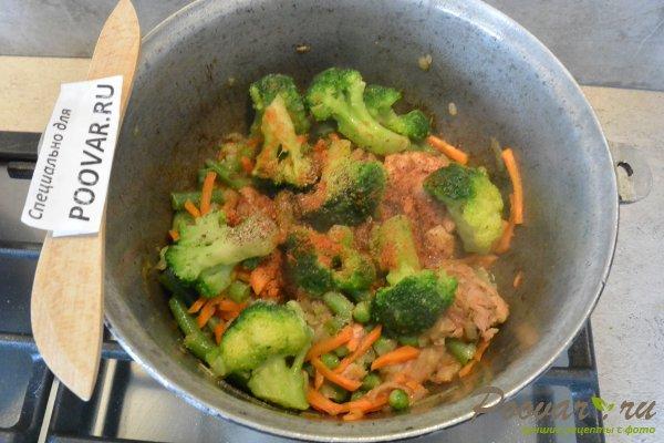 Куриное филе тушеное с овощами Шаг 12 (картинка)