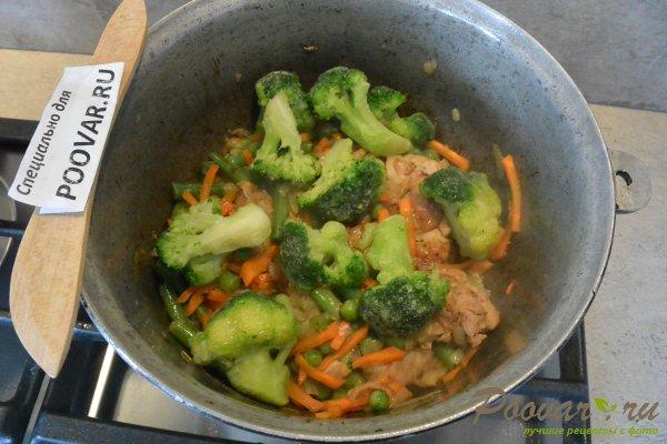 Куриное филе тушеное с овощами Шаг 11 (картинка)