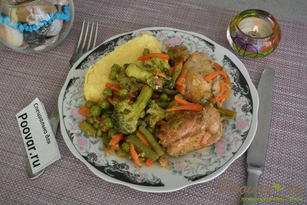 Куриное филе тушеное с овощами Шаг 14 (картинка)
