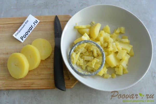 Салат из селедки с картошкой и луком Шаг 2 (картинка)