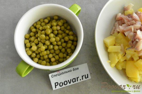 Салат из селедки с картошкой и луком Шаг 4 (картинка)