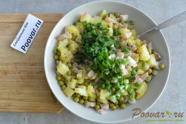 Салат из селедки с картошкой и луком Шаг 8 (картинка)