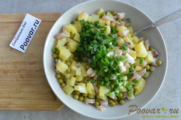 Салат из селедки с картошкой и луком Шаг 7 (картинка)
