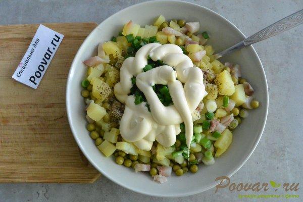 Салат из селедки с картошкой и луком Шаг 9 (картинка)