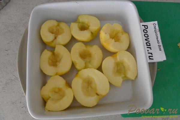 Запеченные яблоки с шоколадом Шаг 3 (картинка)