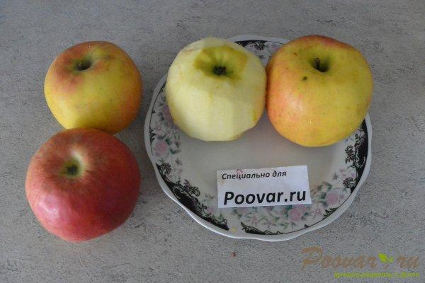Рулет с яблоками из слоёного теста Шаг 1 (картинка)