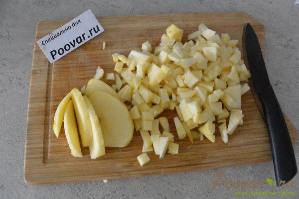 Блины с творогом, яблоками и маком Шаг 1 (картинка)
