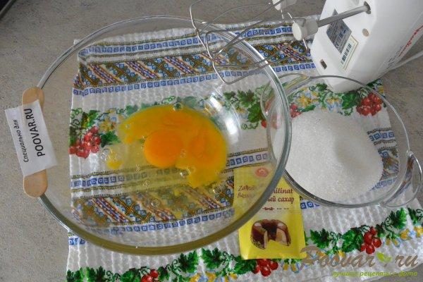 Кекс на вишневом соке с манкой и мукой Шаг 4 (картинка)