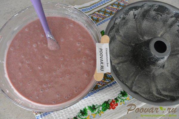 Кекс на вишневом соке с манкой и мукой Шаг 16 (картинка)