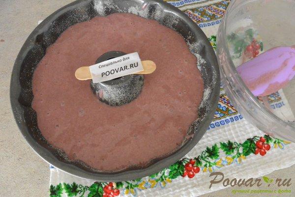 Кекс на вишневом соке с манкой и мукой Шаг 17 (картинка)